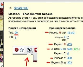 rdsbar - seo расширение для google chrome