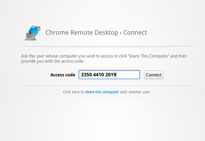 Chrome Remote Desktop - плагин удаленного доступа