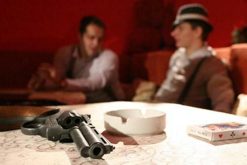 Вадим с другим блогером http://blogrobota.com/ (r2d2) играет в покер