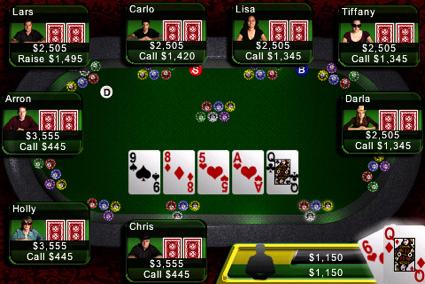 современный покер
