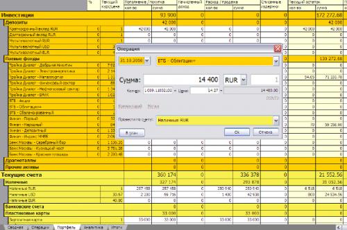 icontrolmymoney - мощная программа управления личными финансами