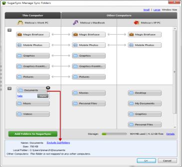 настраиваем SugarSync - облачный сервис для хранения данных
