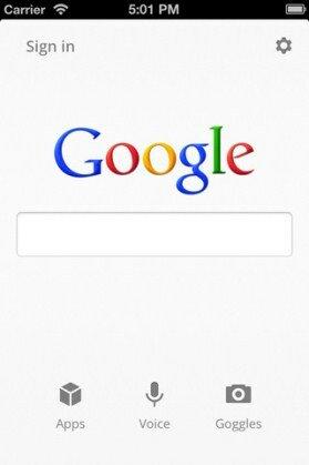 Обновилось поисковое приложение для iPhone от Google
