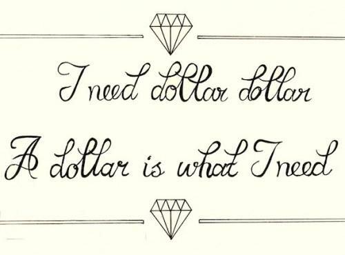 i need dollar